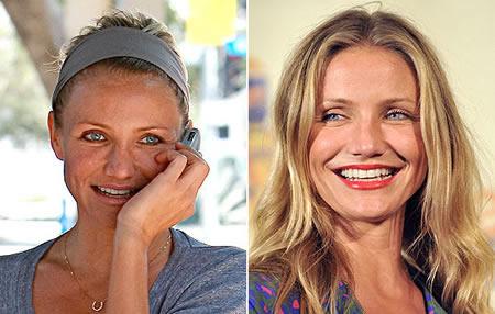 Wie man ohne Make-up Gewicht verliert